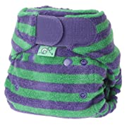 Totsbots Bamboozle Cloth Diaper Thistle Size 1 5-18lbs