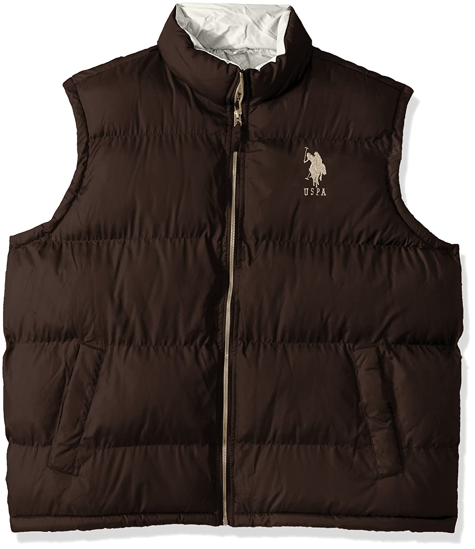 U.S. Polo Assn. OUTERWEAR メンズ B07369J8ZD 3X Dark Brown 5601 Dark Brown 5601 3X