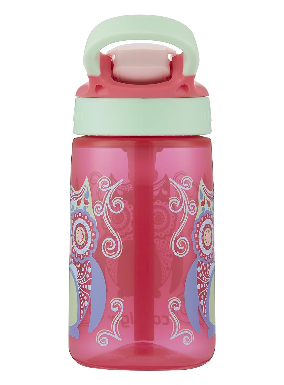 c6422d7f08 Contigo AUTOSPOUT Straw Gizmo Flip Kids Water Bottle, 14 oz., Sprinkles  with Owl: Amazon.in: Home & Kitchen