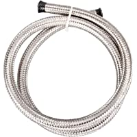 58d0e2d7070855 Universal AN-6 AN6 AN06 308 Stainless Steel Braided Fuel Line Oil Gas Hose