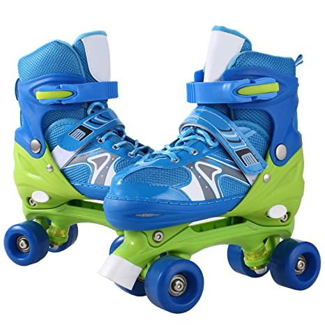 Amazon.com   ANCHEER Inline Skates Kids Roller Skates for Women ... ed7796ceaa