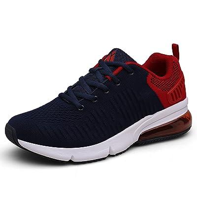 Mishansha Mens Womens Breathable Athletic Running Shoes Air Cushion Walking Training Jogging Gym Fashion Sneakers | Road Running