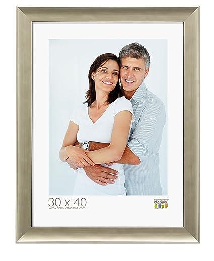Deknut Cornice portafoto 13 X 18 plastica argento cornice argento ...