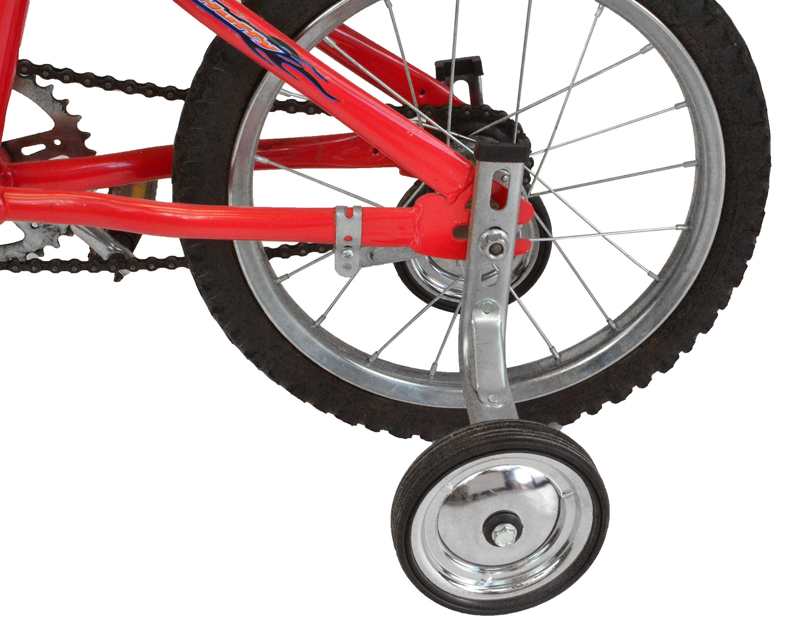 Lumintrail Children's Bicycle Training Wheels 12-18 Inch Kids Bike Stabilizer by Lumintrail (Image #1)
