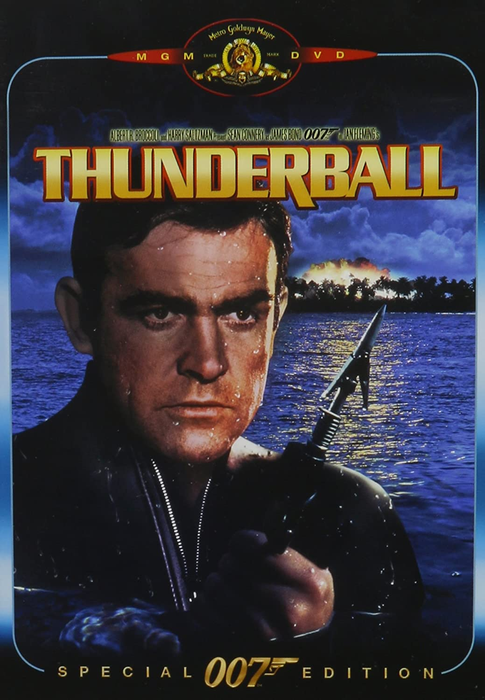 Amazon Thunderball Sean Connery Claudine Auger Adolfo Celi