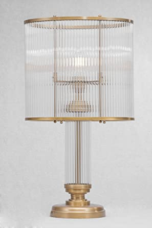 Art Déco/petitot - Lámpara de mesa I.: Amazon.es: Iluminación