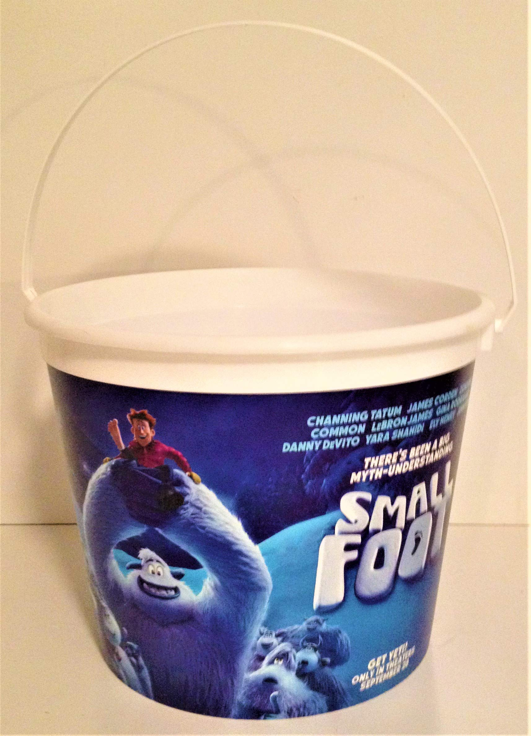 Smallfoot Movie Theater Exclusive 170 oz Plastic Popcorn Tub