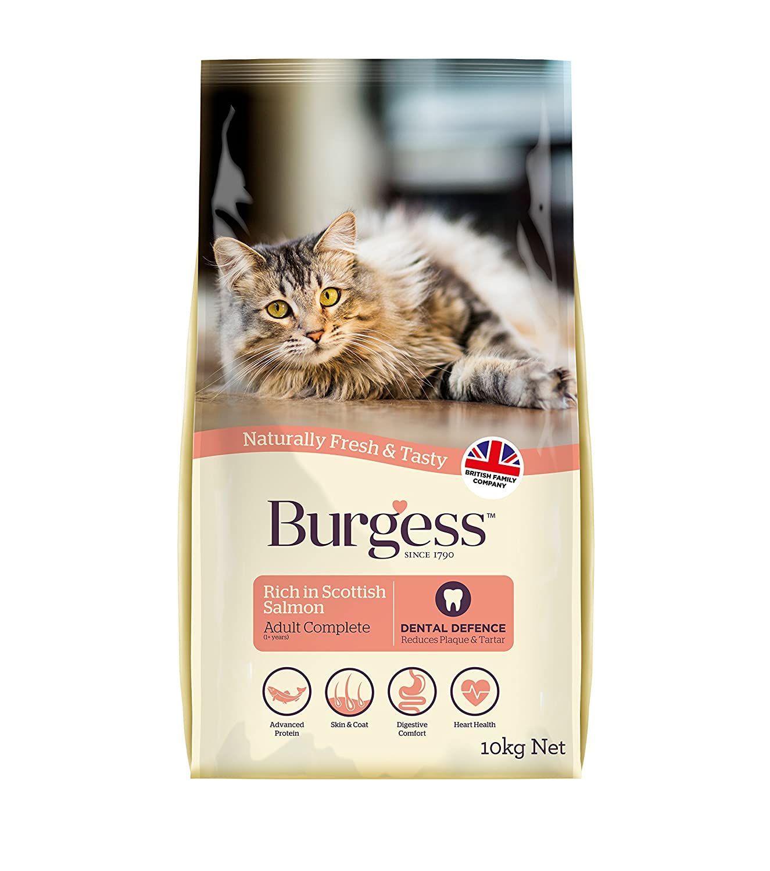 Supacat Croquettes pour chat adulte Saumon écossais 10 kg