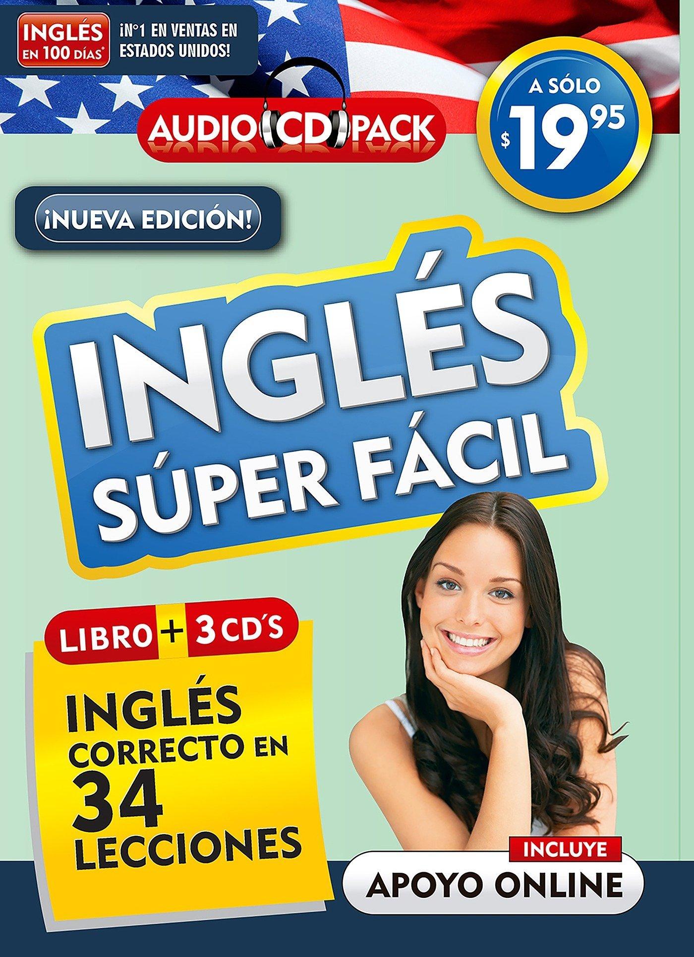 Download Inglés en 100 días - Inglés súper fácil / English in 100 Days - Very Easy English Audio Pack (New edition) (Spanish Edition) PDF