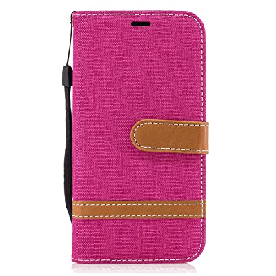 Samsung Galaxy A50 Flip Case, Cover for Samsung Galaxy A50 Leather Extra-Protective Business Kickstand Cell Phone case Card Holders with Free Waterproof-Bag Classical: Baby