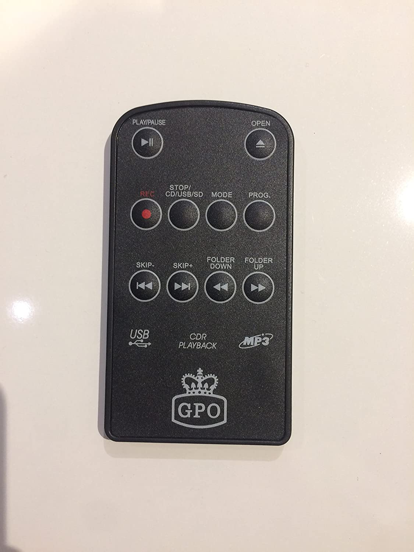 GPO GPO mando a distancia de repuesto para tocadiscos Memphis ...