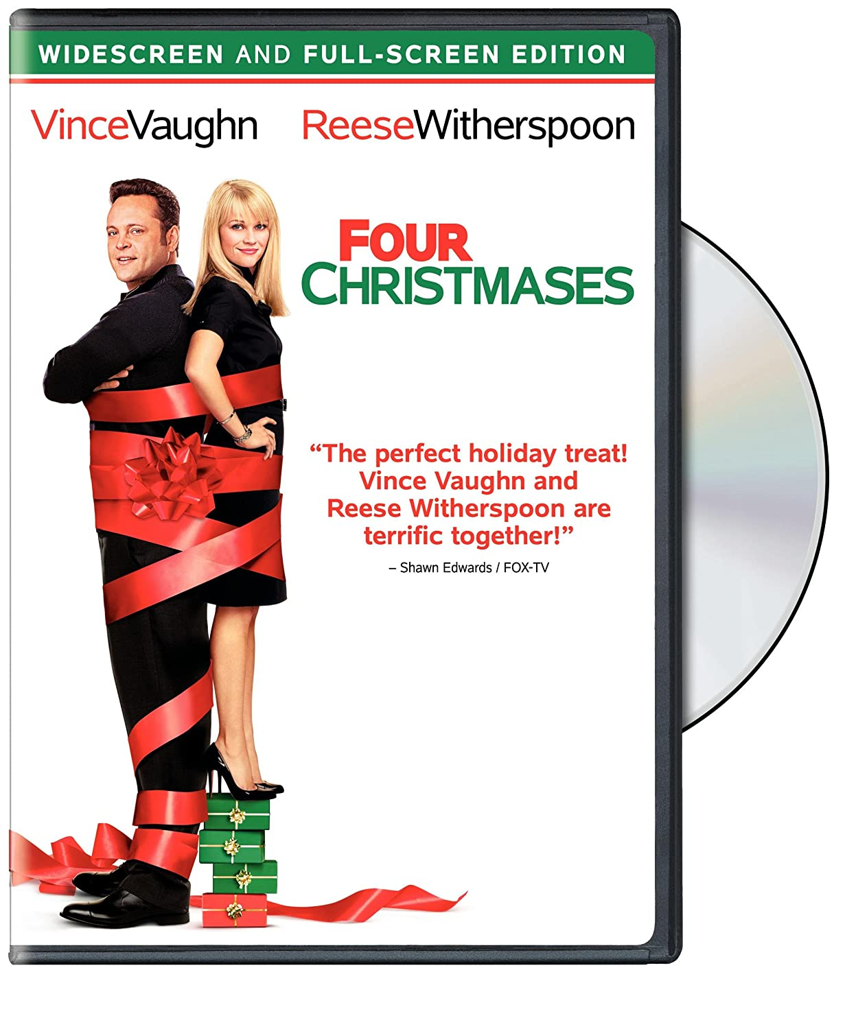 Amazon.com: Four Christmases: Reese Witherspoon, Vince Vaughn, Seth ...