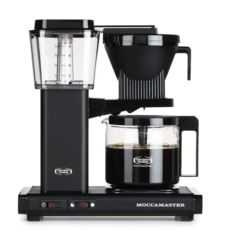 Moccamaster KBG 741 AO Independiente Semi-automática - Cafetera (Independiente, Cafetera de filtro, 1,25 L, De café molido, 1520 W, Negro): Amazon.es: Hogar