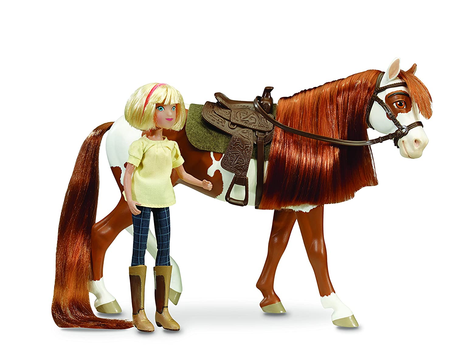 Breyer Spirit Riding Free - Spirit and Lucky Horse Doll Gift Set Reeves (Breyer) Int'l 9203 Accessory Consumer Accessories