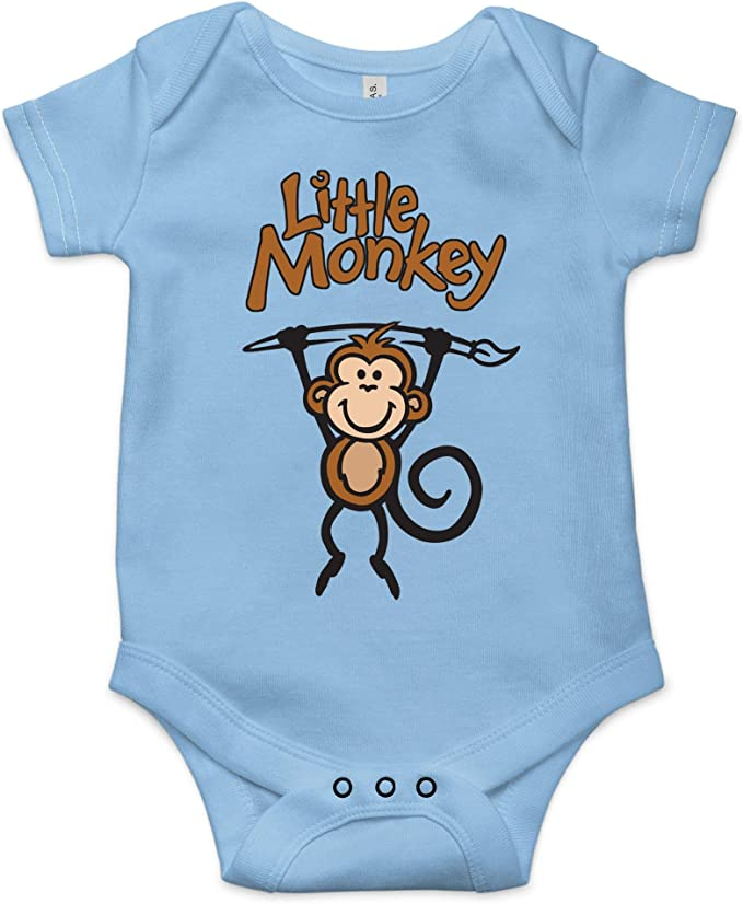 Little Hunk One-Piece  Funny Baby Bodysuit  Baby Boy Gift  Baby Shower Gift  Baby Mustache  The Busy Bee