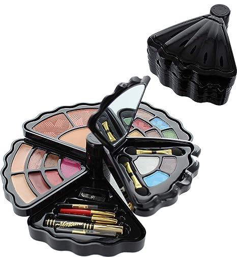 Amazon.com: BR juego de maquillaje - sombra de ojos, rubor ...