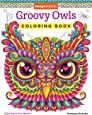 Groovy Owls Coloring Book Is Fun