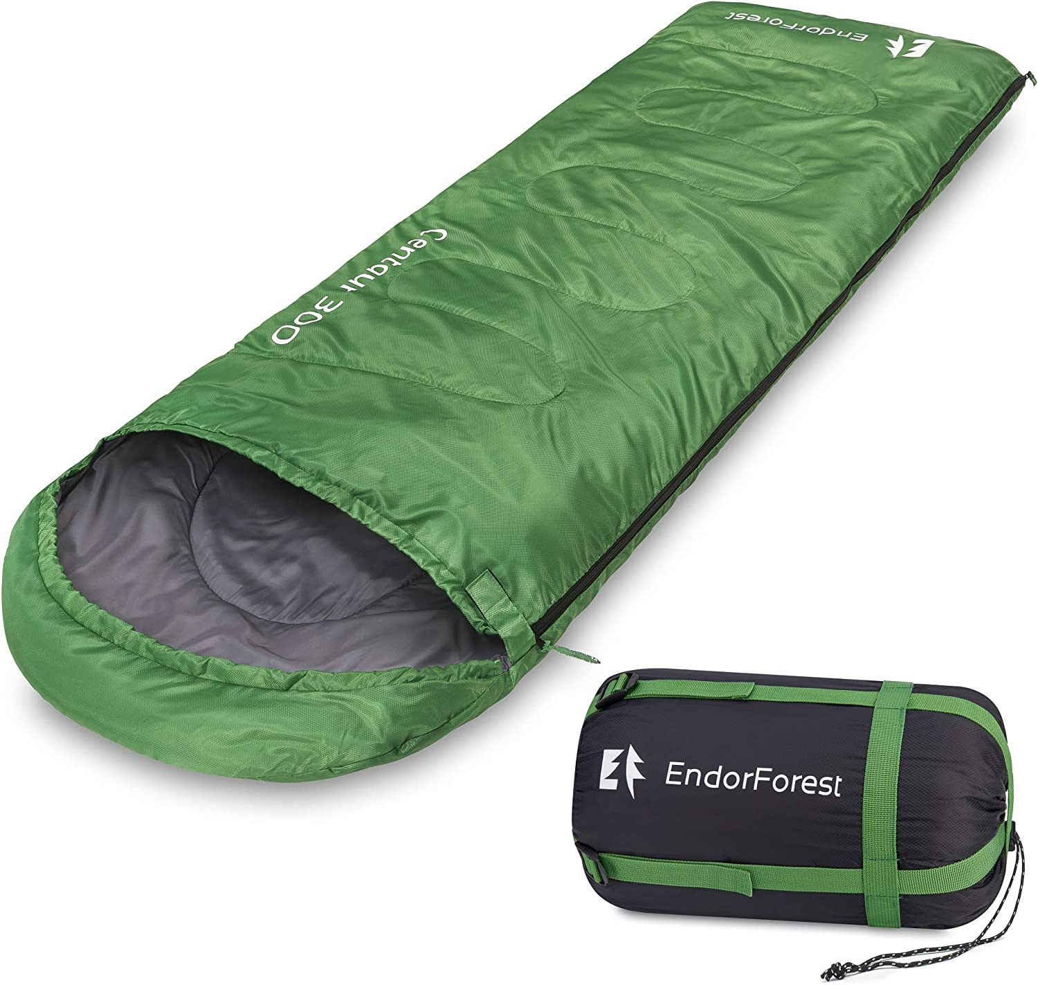 Wind Tour Sleeping Bag Thick and Warm For Cold winter Outdoor Camping 1.3kg UK