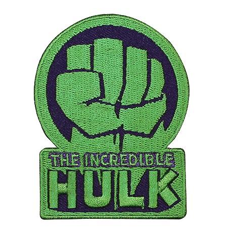 Amazon Marvel The Incredible Hulk Logo Patch Disney Superhero