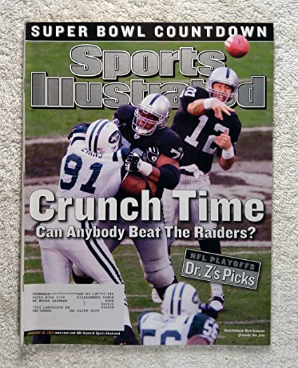 9302da272d9 Rich Gannon - The Oakland Raiders beat the New York Jets to advance to the  AFC