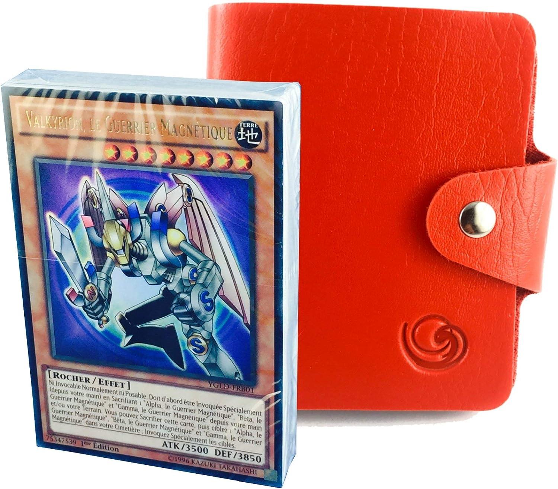 Chevaliers Fant/ômes Deck L/égendaire YU-gi-Oh en Version fran/çaise au Choix avec 1 Porte-Cartes Format Universel Lagiwa/®