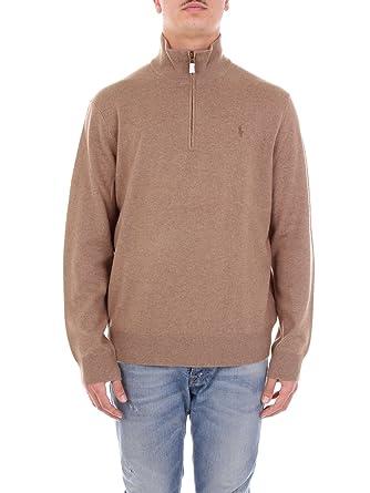 Polo Ralph Lauren 71066379 Suéter Hombre Camello XXL: Amazon.es ...