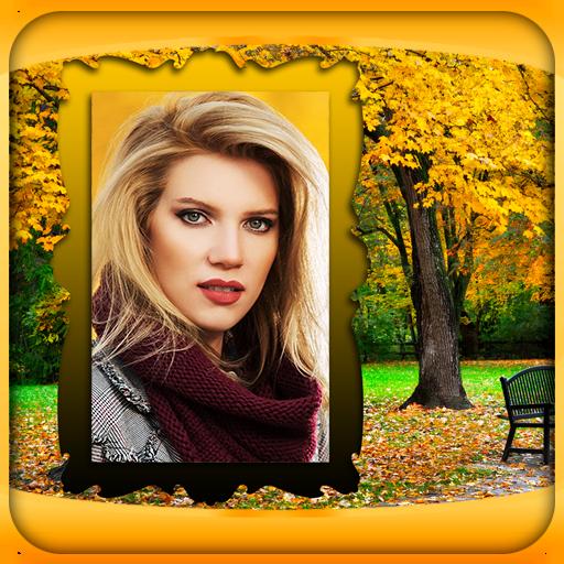 Autumn Photo Frames (Frames Umbrella)