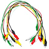 Test Leads with Alligator Clips 10 Pieces Set