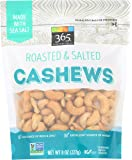 365 Everyday Value, Cashews, Roasted & Salted, 8 oz
