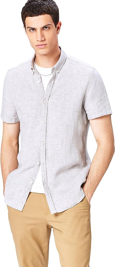 Marchio - Regular Linen Camicia Uomo find