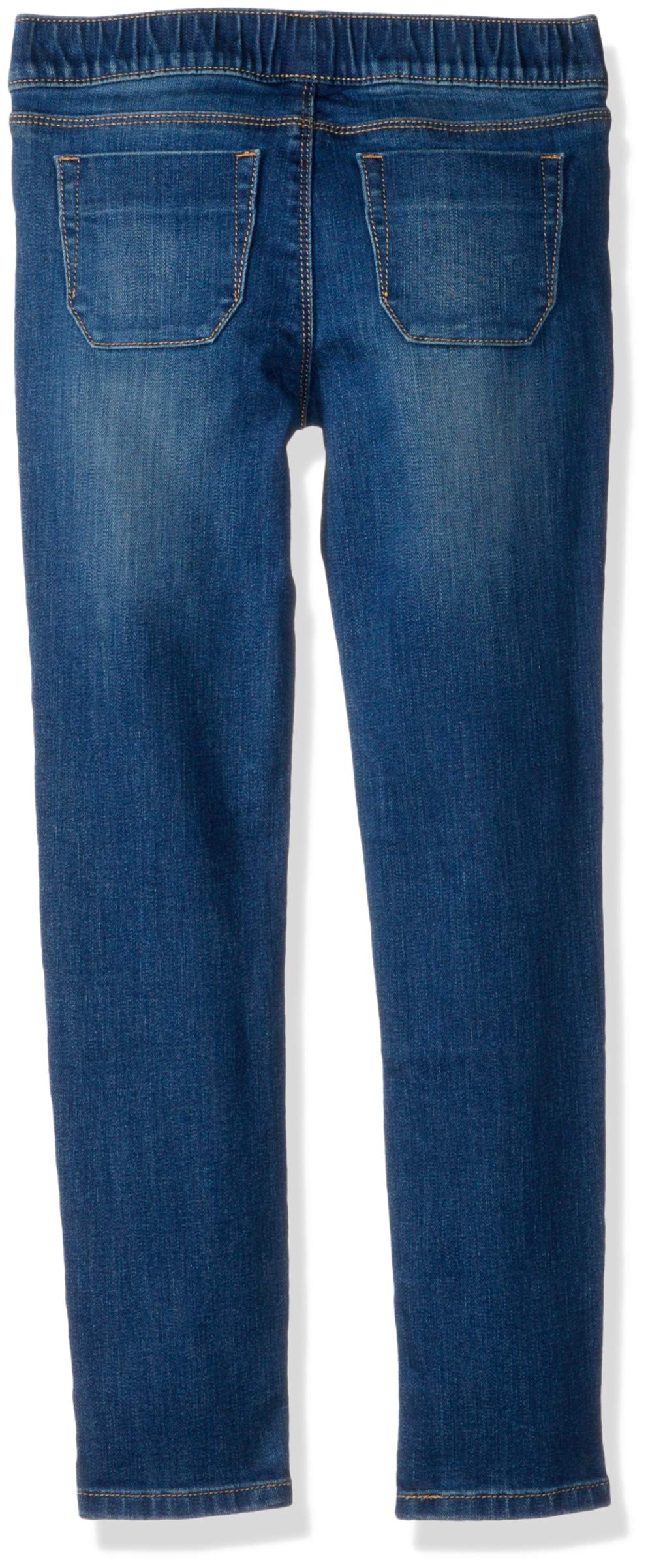 Tommy Hilfiger Girls' Adaptive Jegging Jeans with Elastic Waist and Adjustable Hems, KEITH wash 10 by Tommy Hilfiger (Image #2)