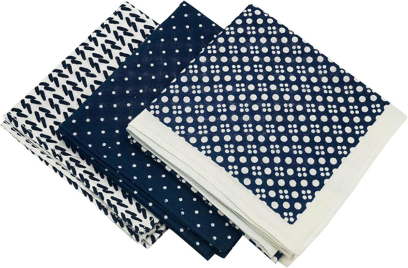 Zelue - (Pack de 3 Pañuelos de Algodón para Hombre Mujer de ...