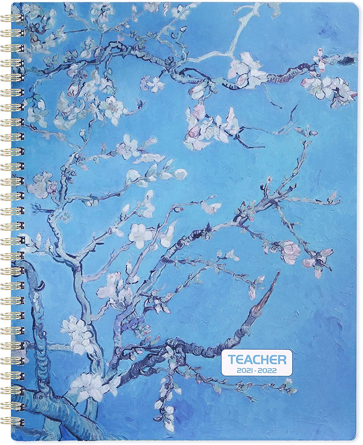 Teacher Planner 2021-2022 - Academic Lesson Planner from July 2021 - June 2022, 8'' x 10'', Lesson Plan Book, Weekly & Monthly Lesson Planner with Quotes : Office Products