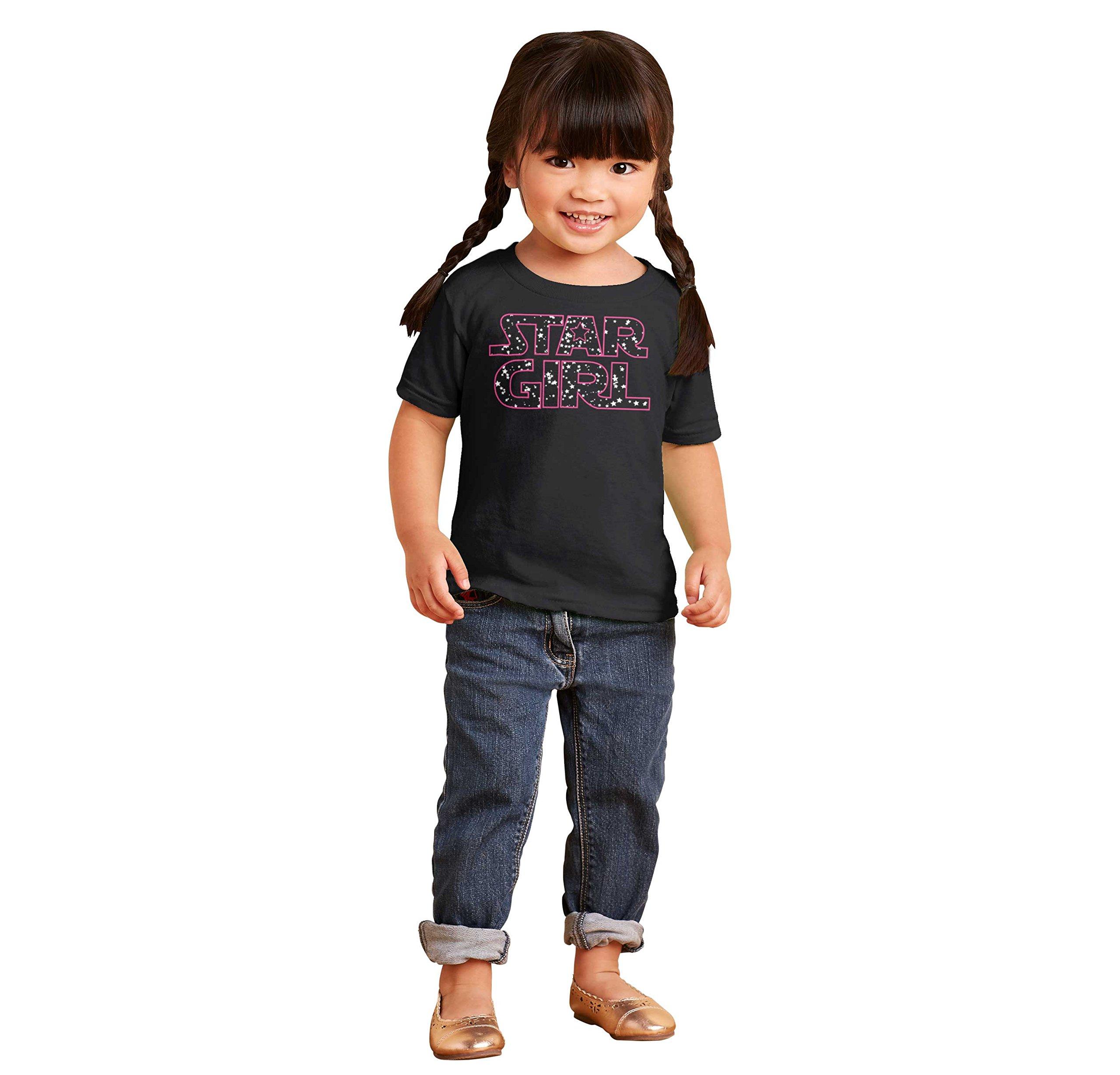 Brisco Brands Star Girl Princess Leia Darth Vader Star Han Solo Wars Yoda Toddler Infant T by Brisco Brands (Image #4)