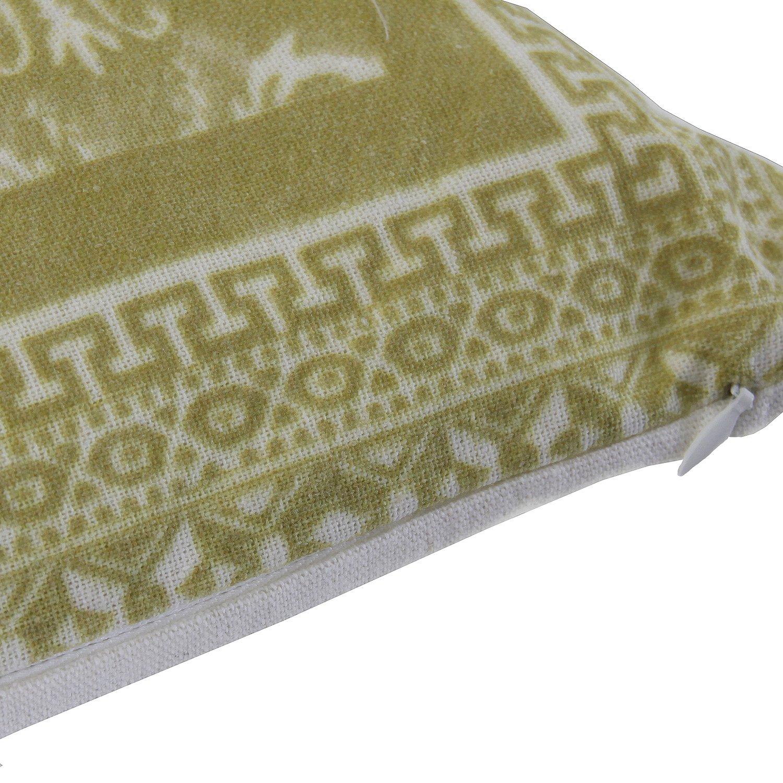 Vical Home Cojín Poliéster, Verde 45x45x10 cm: Amazon.es: Hogar