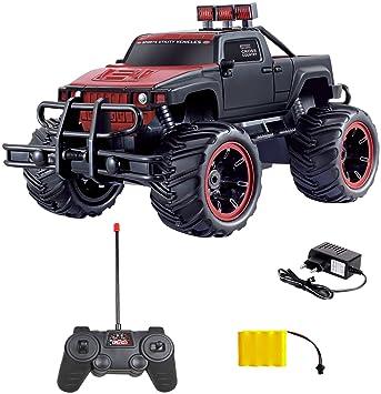 Dia Well RC Coche Teledirigido Pick Up Monster Truck Monster Truck Incluye batería, cargador y radiocontrol