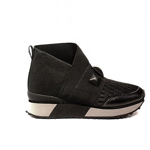 Apepazza RSD09 Elastic Sneaker di Colore Nero Nuova Collezione Autunno  Inverno 2017 2018  Amazon.it  Scarpe e borse a2cfcac8735
