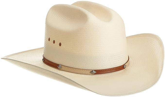 5edc1f46 Stetson Men's Maddock Hat at Amazon Men's Clothing store: Cowboy Hats