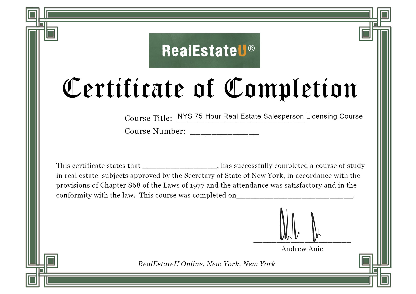 Amazoncom 75 Hour New York State Real Estate Salesperson License