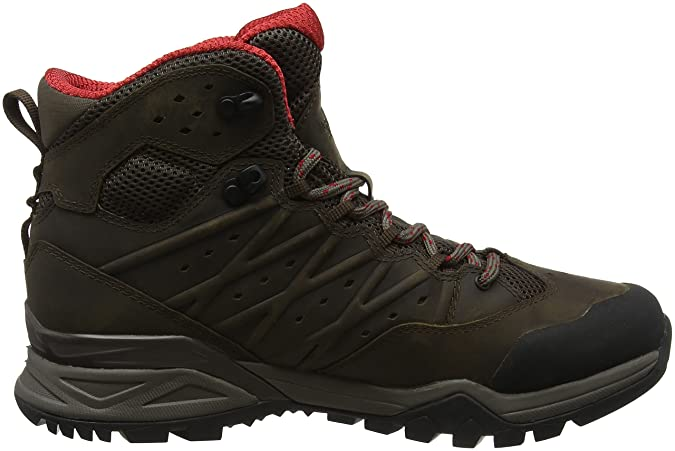 The North Face M HH Hike II MD GTX, Chaussures de Randonnée Hautes Homme, Vert (Tarmacgreen/Burntolivegrn 4Dd), 47 EU