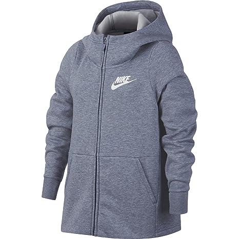 92fc7232f5 Amazon.com  NIKE Sportswear Girls  Full-Zip Hoodie  Sports   Outdoors