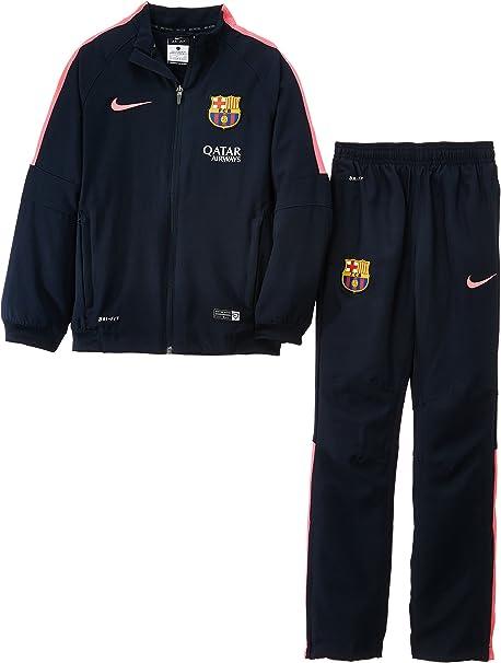 Nike Barcelona FCB - Chándal, Color Negro/Rosa, Talla L: Amazon.es ...
