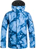Quiksilver Boys Mission Printed Youth Snow Jacket