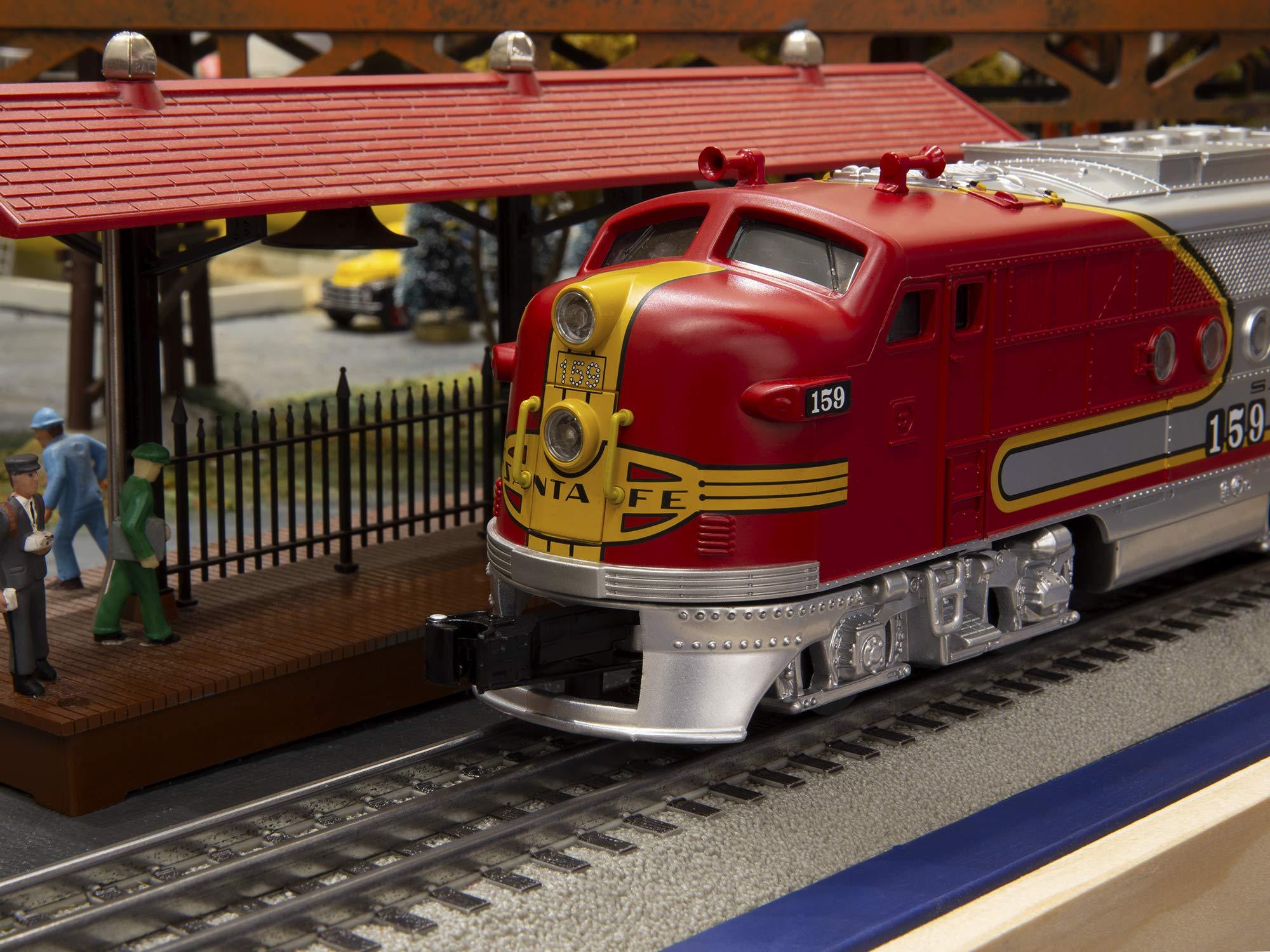 Lionel Santa Fe Super Chief Electric O Gauge Model Train Set w/ Remote and Bluetooth Capability by Lionel (Image #2)