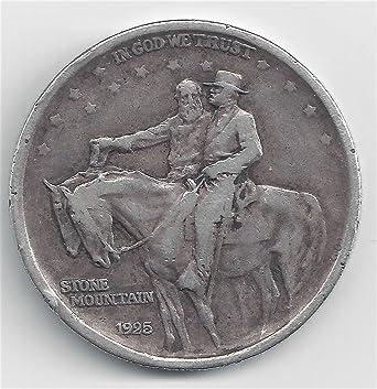 1925 Stone Mountain Commemorative Silver Half Dollar BU Uncirculated