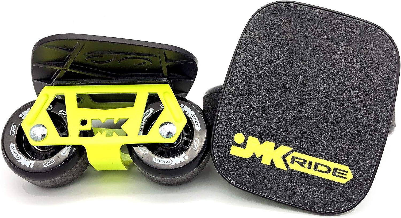 JMKスケート ブラックイエロー/フリースケート ブラック / Y. JMKRIDE