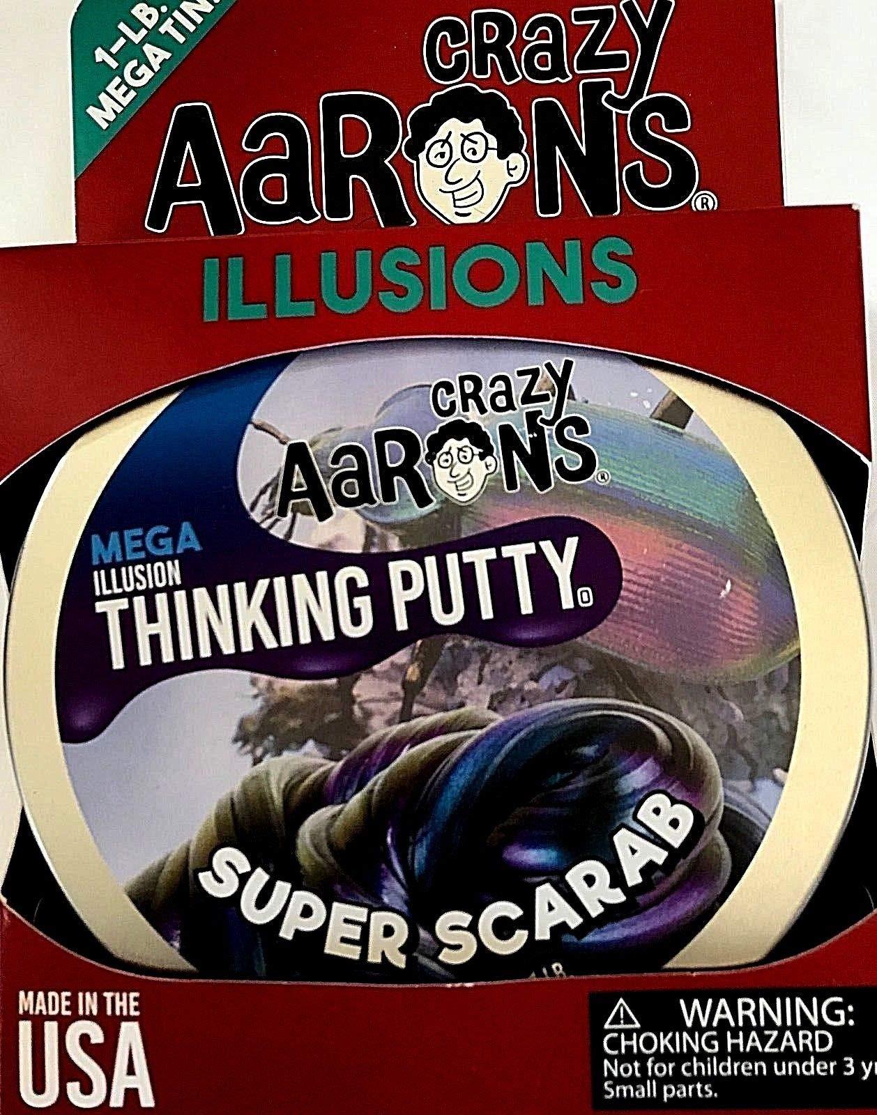 MEGA Super Scarab Illusion Crazy Aaron's Thinking Putty 1 Pound (LB) of Putty, by Crazy Aaron's Thinking Putty (Image #4)