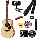 Yamaha FS800 Small Body Guitar, Solid Top, with Legacy Accessory Bundle, Many Choices