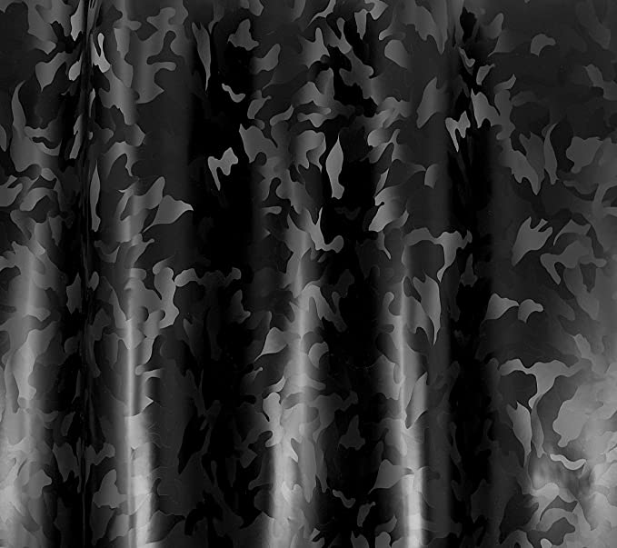 3ft x 5ft VViViD 2020 Edition Black Stealth Small Pattern Camouflage Vinyl Wrap Roll