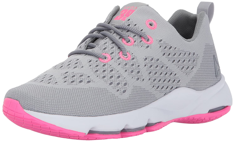 Reebok Women's Cloudride LS DMX Walking Shoe B01MY4Z4MK 8.5 B(M) US|Skull Grey/Flat Grey/White/Poison Pink